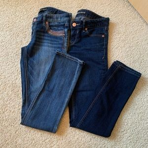Express Ankle Skinny Low Rise Jeans 👖 Bundle